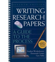 writing research papers weidenborner